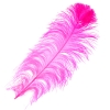 "Ostrich Wing Feathers 18-24"" Premium Qlty 1/2 Lb Hot Pink"